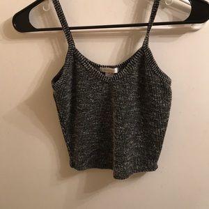 Super cute knit sweater crop top